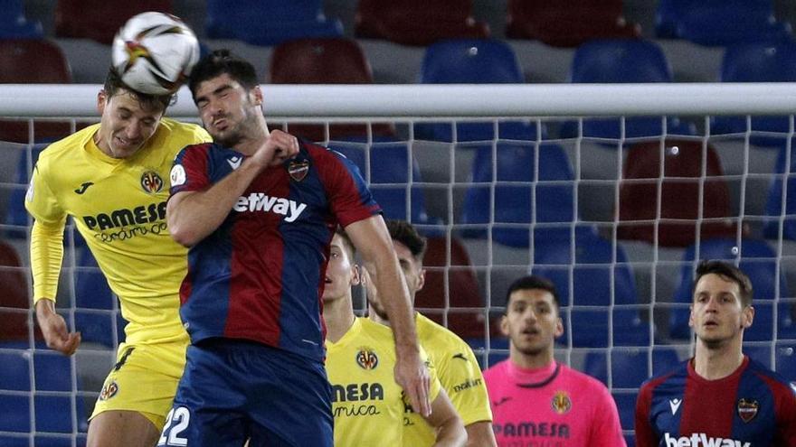 El Levante vence sobre la bocina al Villarreal y pasa a semifinales