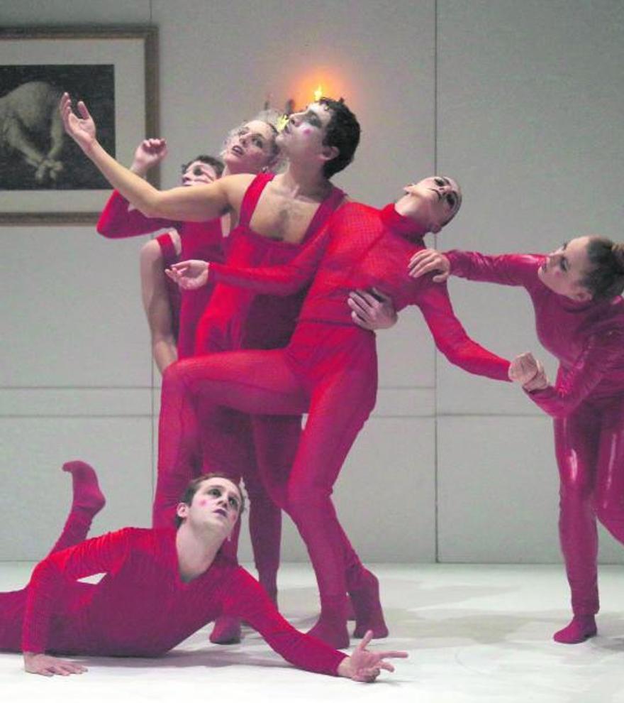 El espectáculo «The  Lamb» de la compañía  Kor'sia.   María Alperi