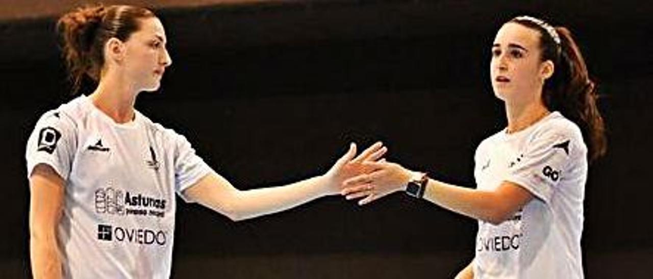 Claudia Leal y Lorena Uslé. |