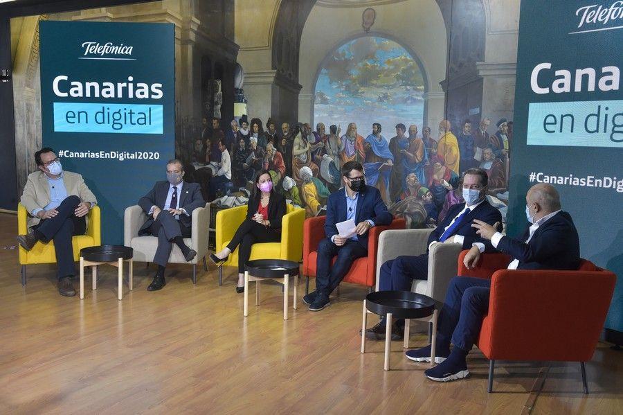 Evento 'Canarias en digital. Nuevos tiempos para el turismo'