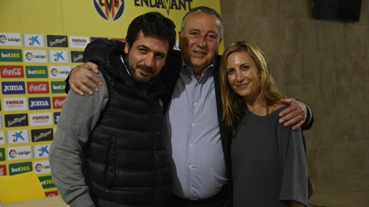 La familia Roig Negueroles, artítices de los grandes éxitos del Villarreal.