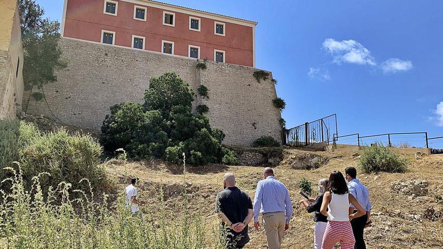 La nueva zona arqueológica de Dalt Vila se podrá visitar «en unos meses»