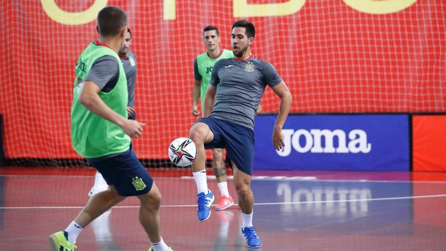 La selección de fútbol sala vuelve con los cordobeses Cecilio, Bebe y Solano