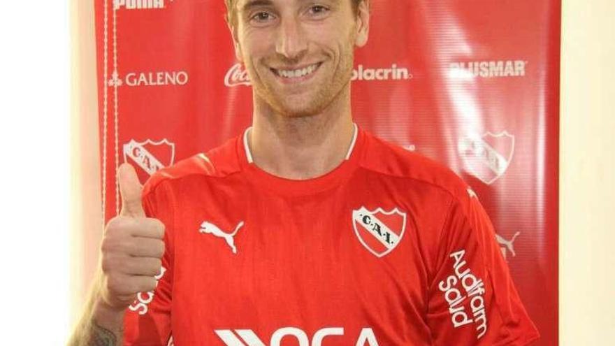 El Sporting tendrá derecho de tanteo sobre un jugador del Independiente