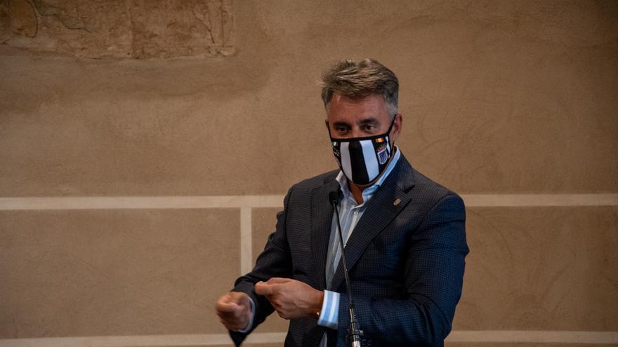 Detenido Joaquín Parra, dueño del CD Badajoz, por presunto fraude fiscal