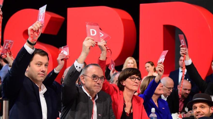 Congreso del SPD en Berlín.
