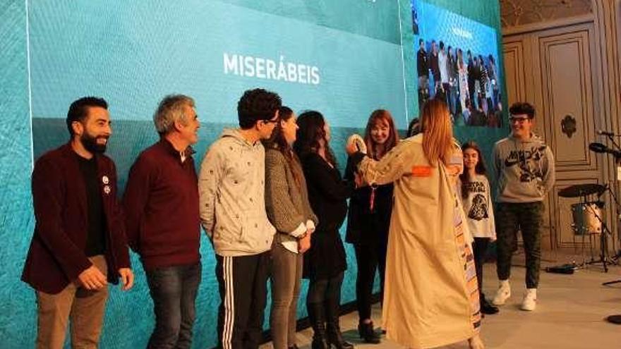 """A Deputación concede o premio Educación en Valores ao musical """"Miserábeis"""" do Illa de Ons"""