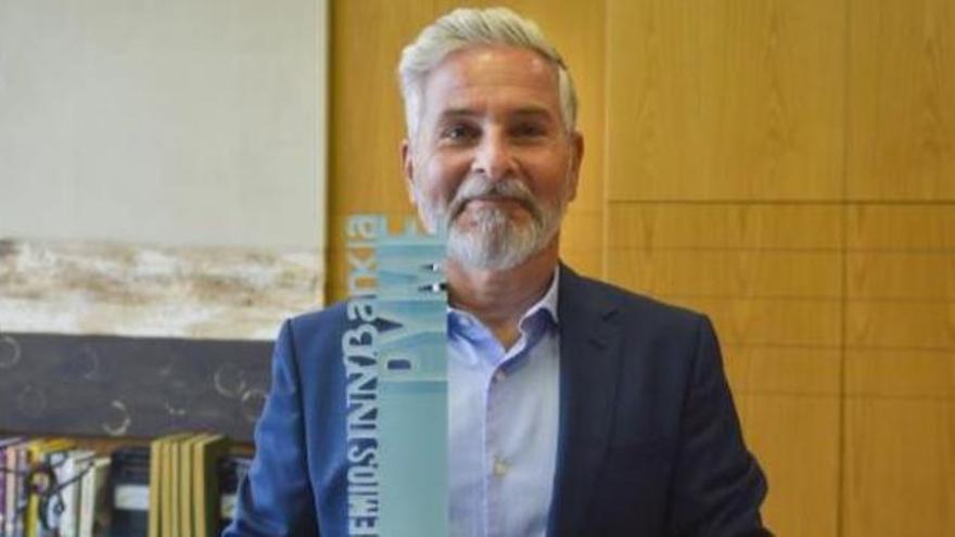 """Justo Santiago Nuez Quintana : """"Invertir en innovación es determinante para competir"""""""