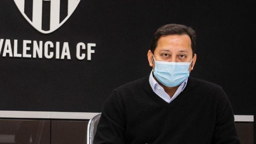 """Murthy dice ahora que el Valencia CF empezará """"el pabellón de Benicalap en 2022"""""""