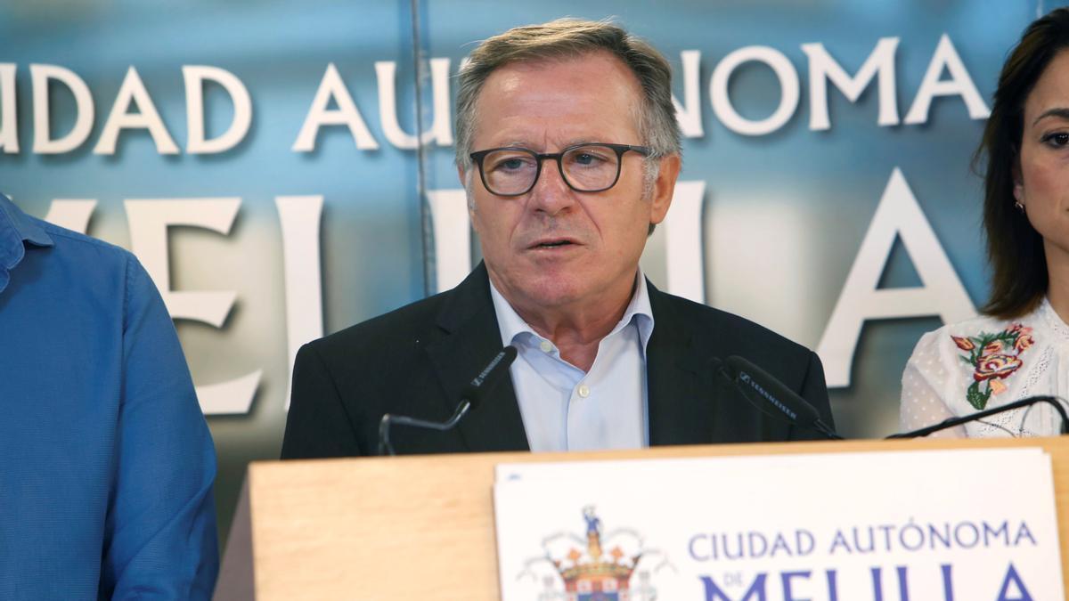 El presidente de Melilla, Eduardo de Castro.