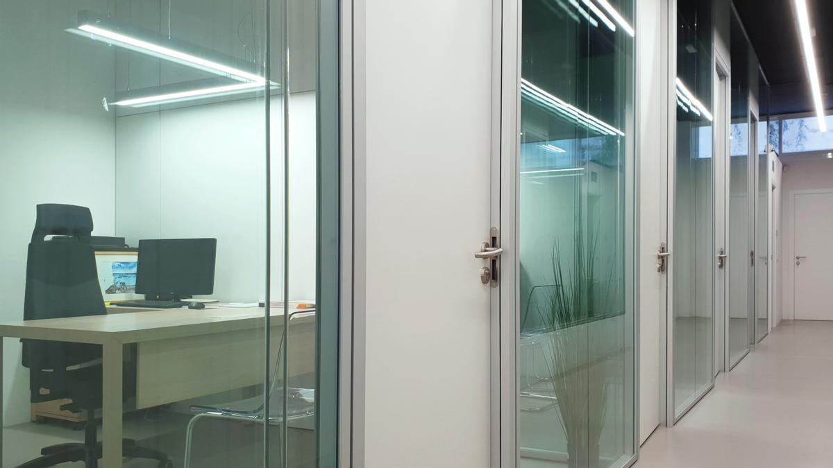 Diseño de una oficina en Ibiza.