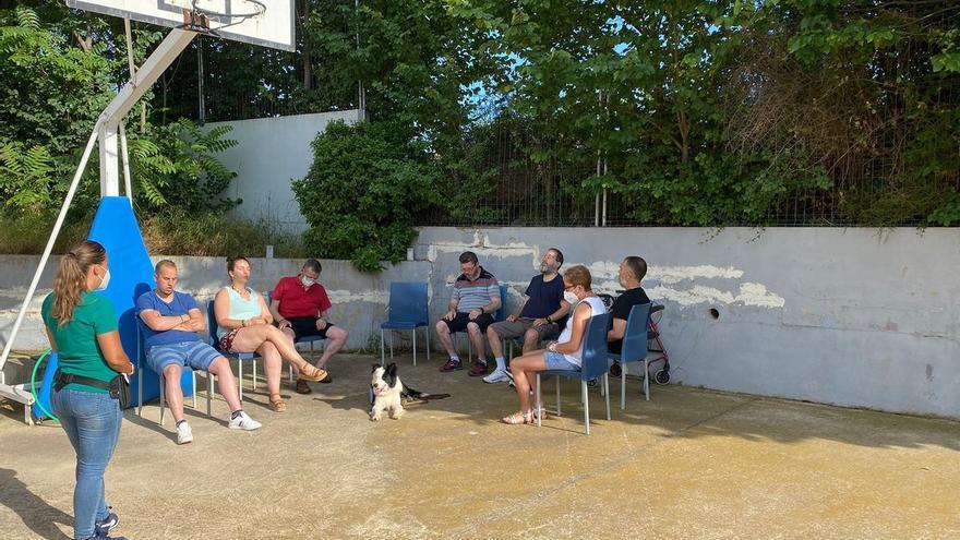 Terapias con perros para personas con trastorno mental en Albocàsser