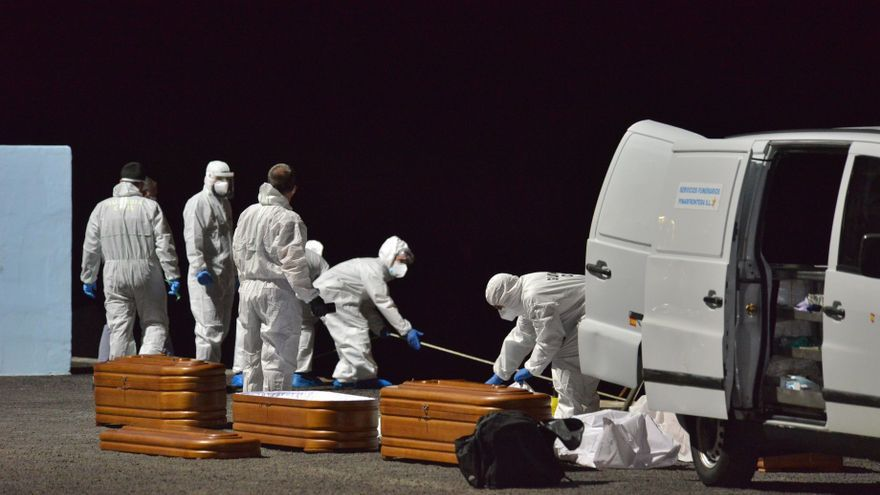 Mueren cuatro migrantes a bordo de una patera localizada al sur de la isla de El Hierro