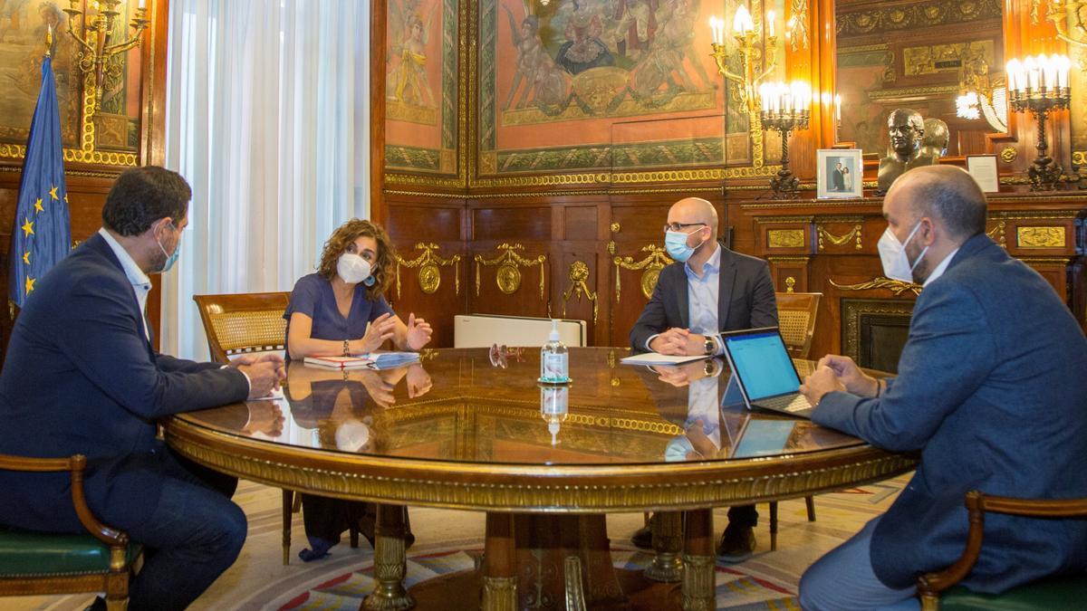 Arrancan las negociaciones entre los socios de Gobierno para elaborar las cuentas públicas de 2022.