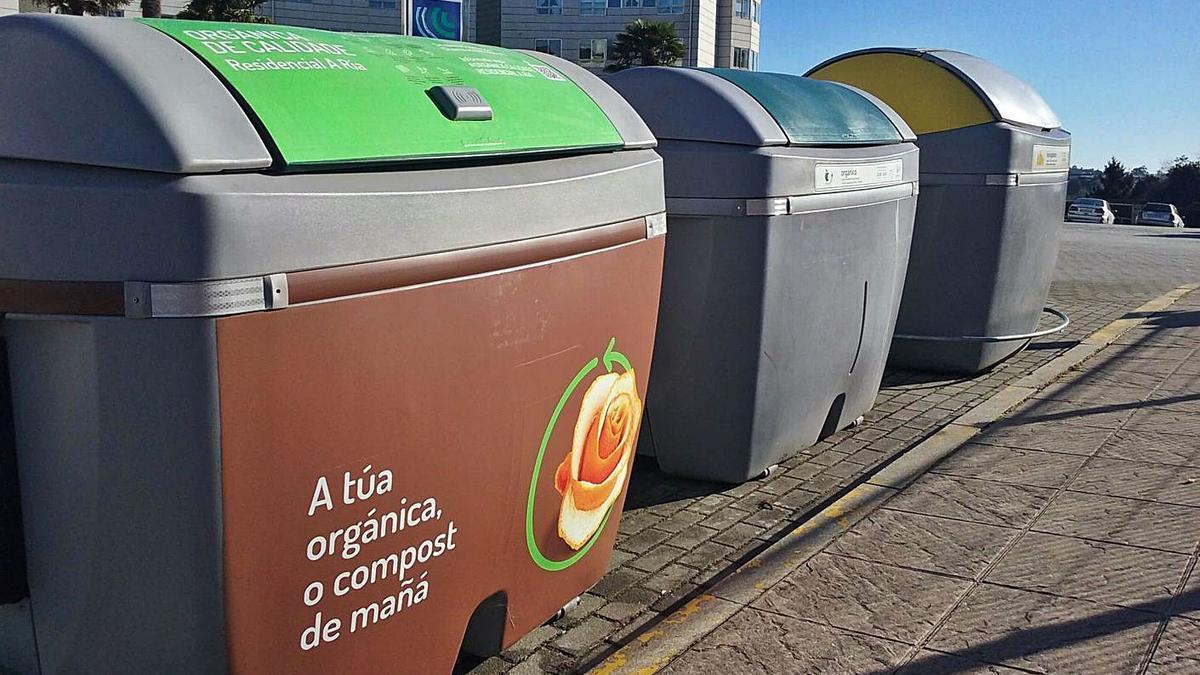 Contenedores instalados por el Consorcio.     // LA OPINIÓN