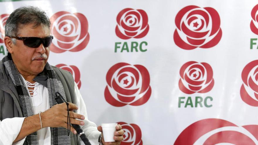 Colombia detiene al exjefe de las FARC Jesús Santrich