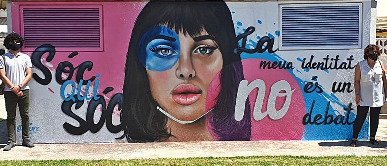Mural pintado por el artista Nacho Mawe. | LEVANTE-EMV