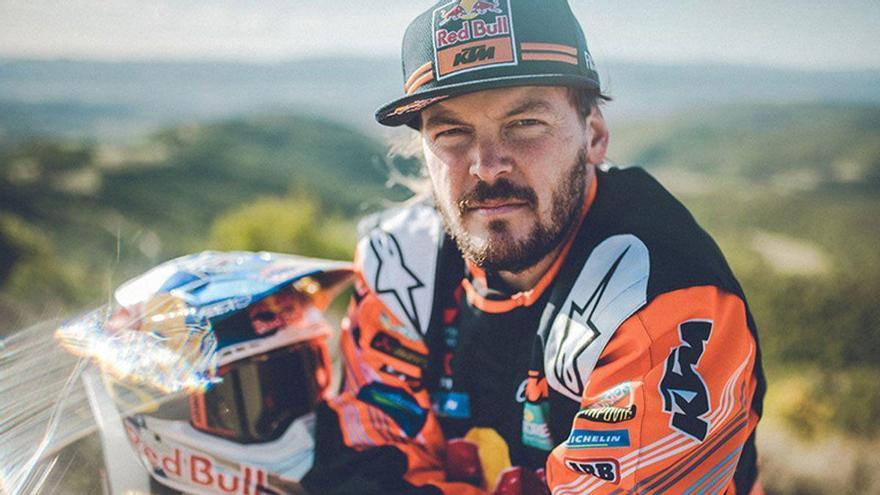 Toby Price renueva con KTM para el Dakar