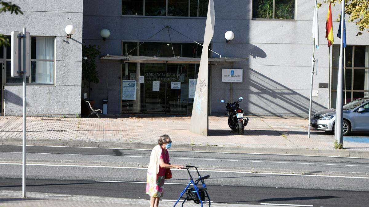 Residencia de mayores de Campolongo, en Pontevedra.