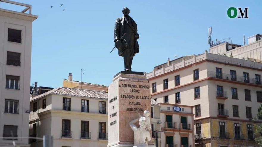 ¿Sabías? La estatua del Marqués de Larios