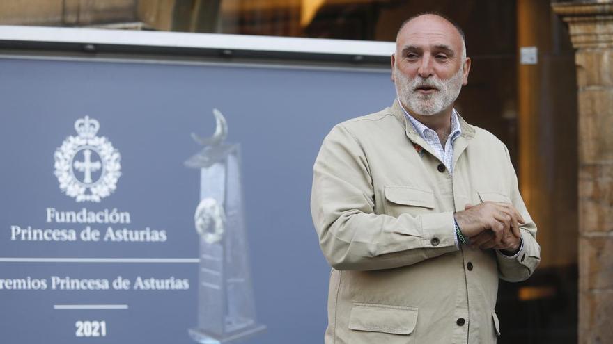 """José Andrés donará el dinero del premio """"Princesa de Asturias"""" de la Concordia a los afectados por el volcán de La Palma"""