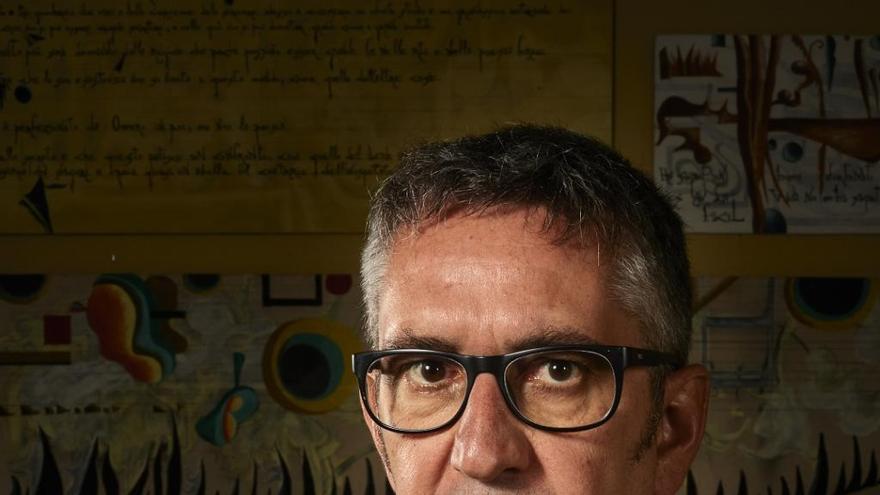 """Manuel Baixauli: """"La creació artística és fer créixer al món"""""""