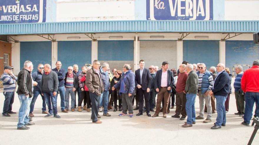 Los empleados de La Verja se reúnen para que la empresa pague las indemnizaciones