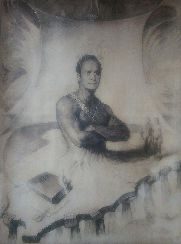 El cuadro pintado por José Pasamar