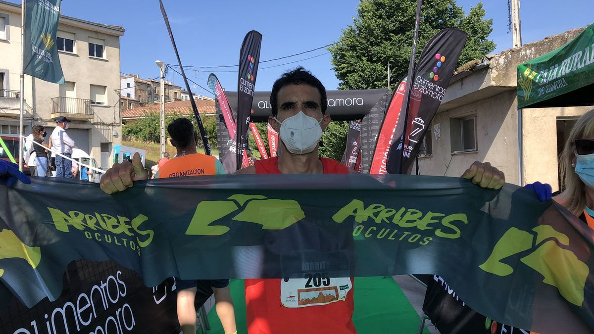 El sayagués Jorge Rodríguez fue el vencedor en la prueba de 11 kilómetros