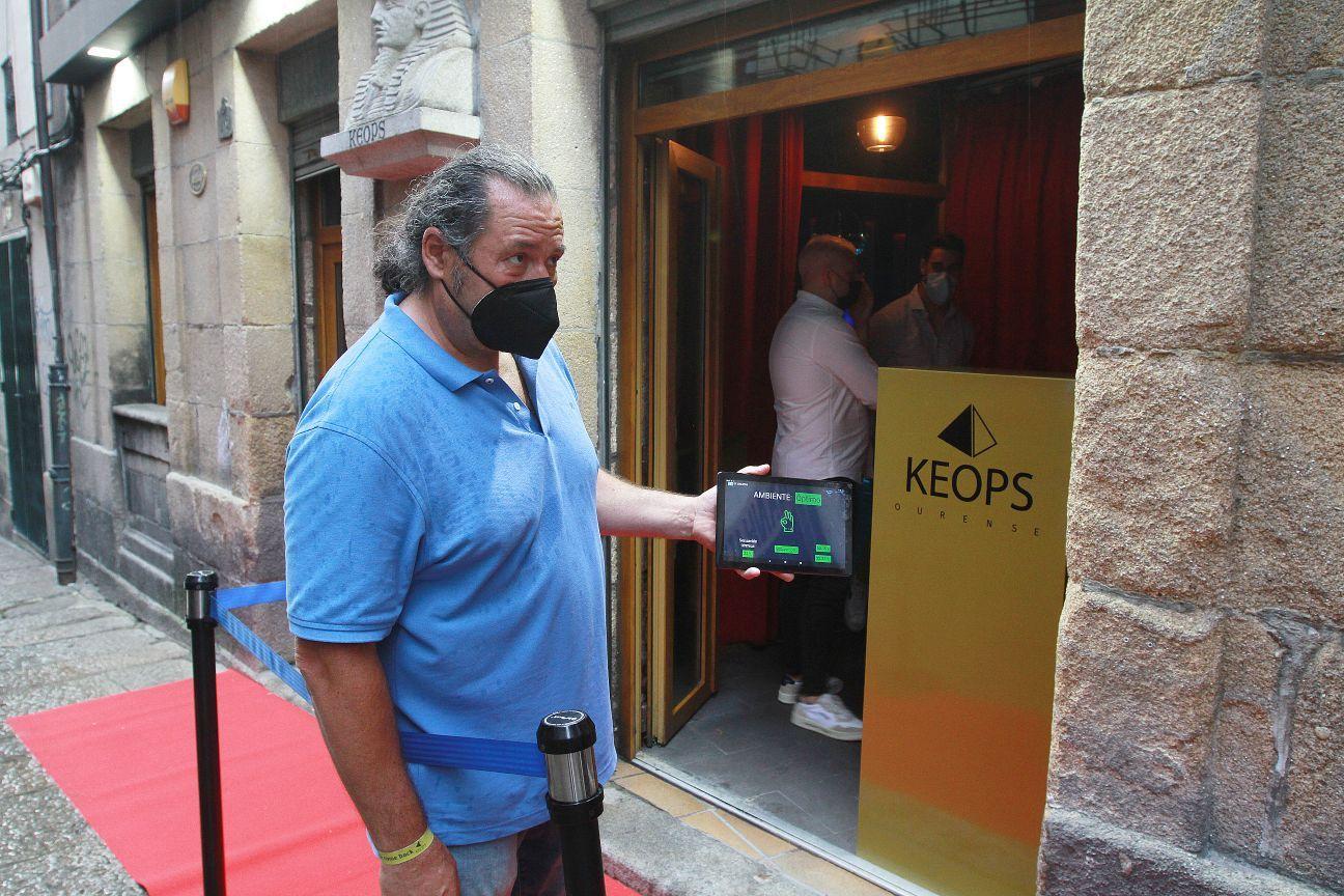 Prueba piloto en Ourense, en el local Keops