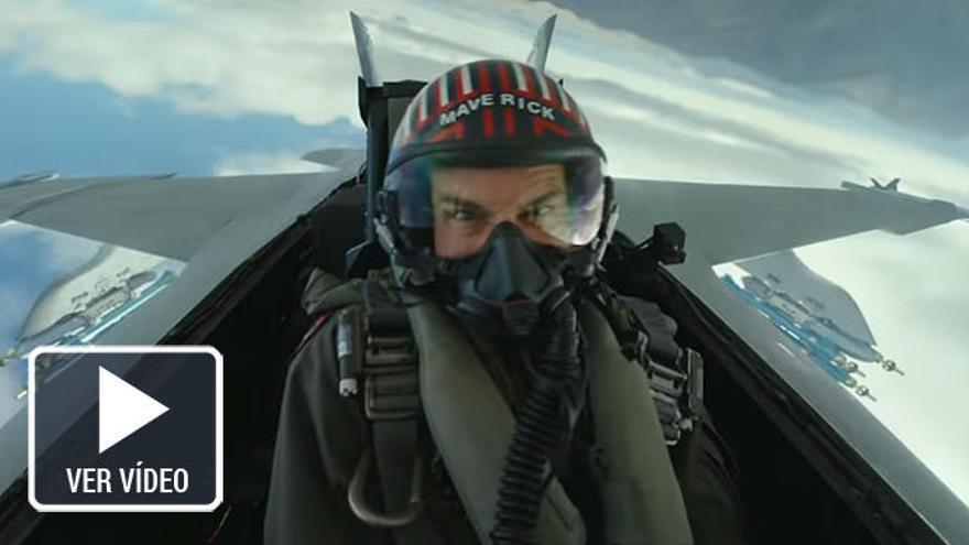 Así es el tráiler del regreso de Tom Cruise como Maverick para la nueva 'Top Gun'