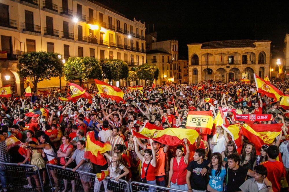 Así se vivió la final de España en el Mundial 2010