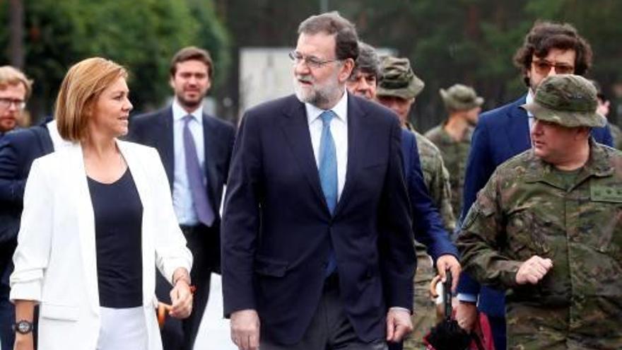 Rajoy: «Espanya podria liderar un batalló de l'OTAN»