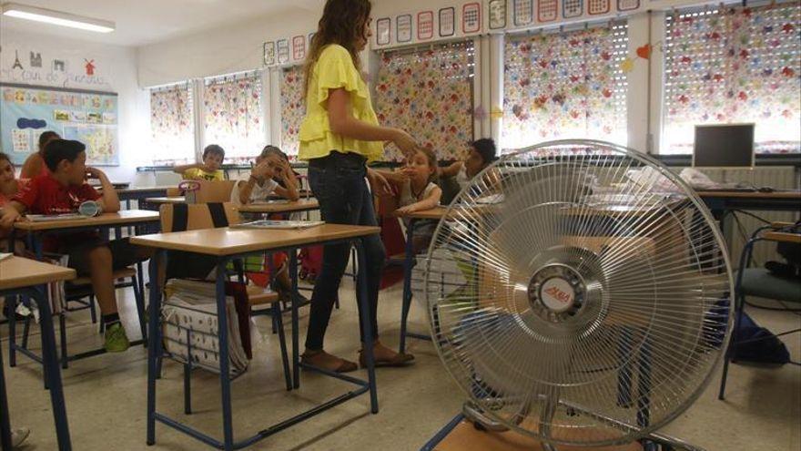 IU critica la gestión del gobierno local en la climatización de colegios