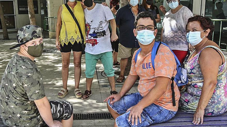 La reducción de prácticas aleja de las aulas a alumnos con discapacidad de Alicante