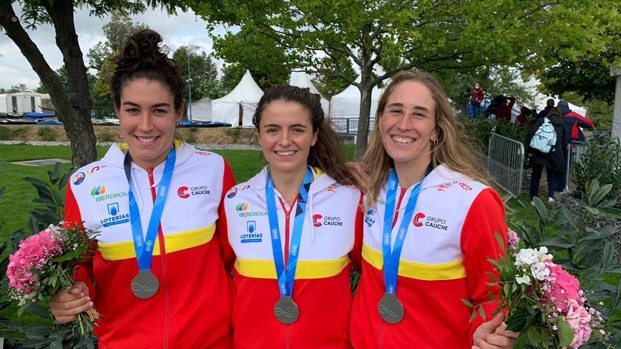 Núria Vilarrubla obté la plata per equips en els mundials de Bratislava