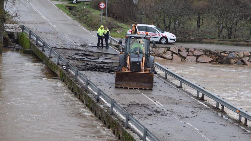 Los ayuntamientos de Zamora podrán pedir ayudas para arreglar los daños causados por el temporal de diciembre de 2019