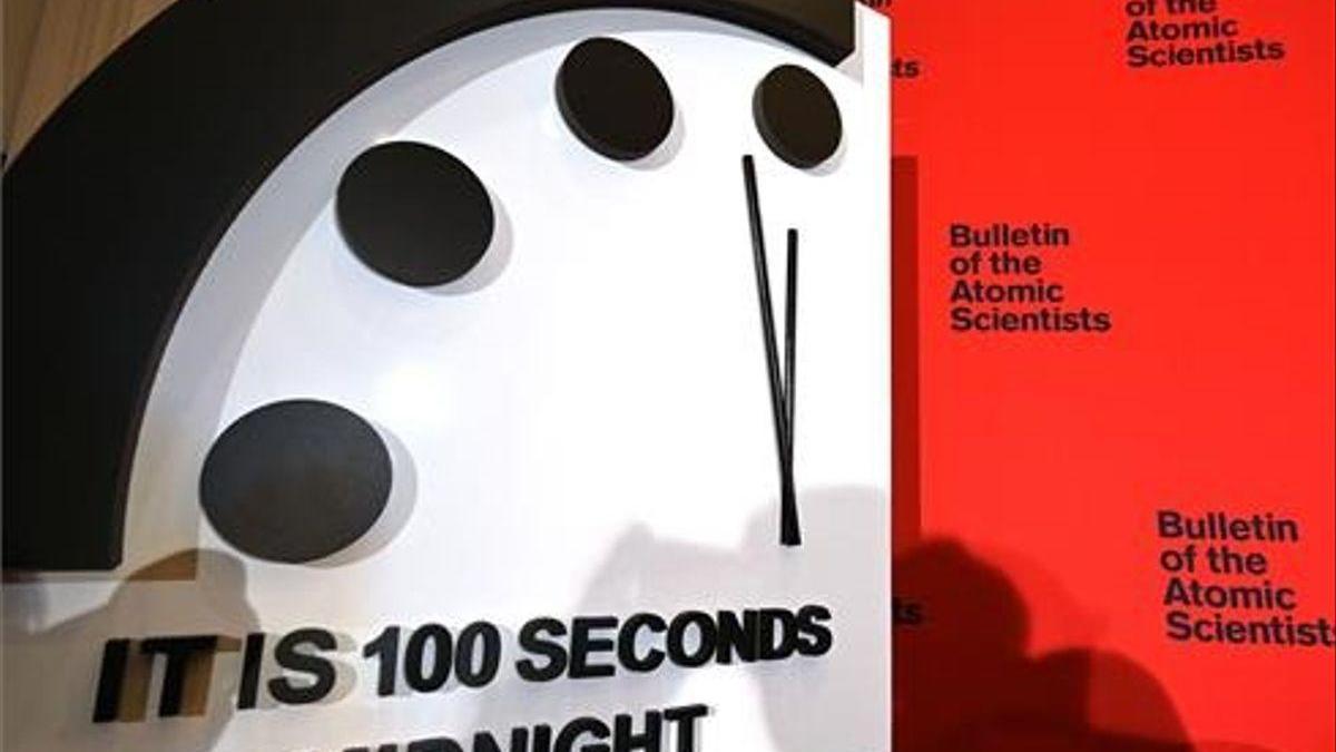 El 'reloj del fin del mundo' está a 100 segundos del apocalipsis por la pandemia