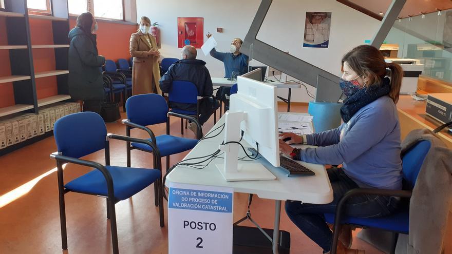 Los afectados por la revisión del catastro de Salceda podrán pagar en tres años la regulación del IBI