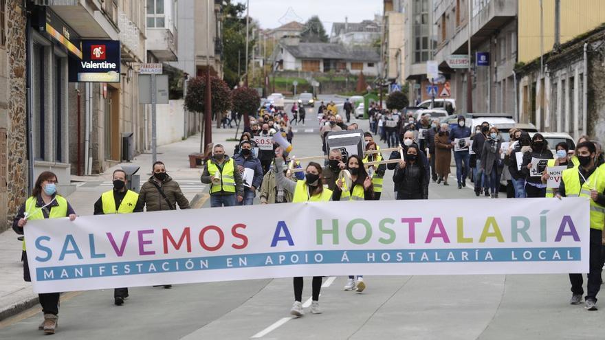 Más de un millar de personas apoyan a la hostelería en Lalín