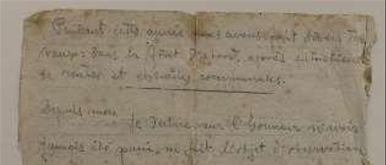 Una carta de Gerardo Blanco en la que relata su experiencia como trabajador esclavo del Reich.