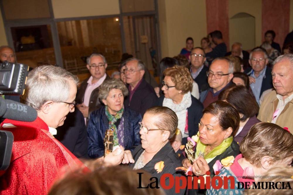 Cruz de Impedidos llegada al convento del Carmen