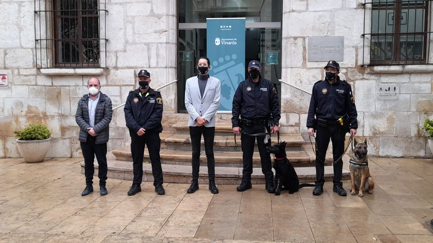 La Policía Local de Vinaròs incorpora una unidad canina