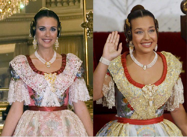Corte 1998. Acertaste si dijiste Laura Caballero y Marta Agustín, quienes sería falleras mayores de Valencia trece y once años después, en 2011 y 2009, respectivamente.