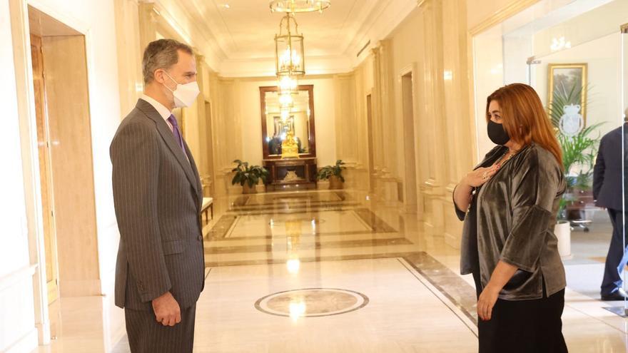 El Rey Felipe VI recibe en audiencia a los gestores administrativos