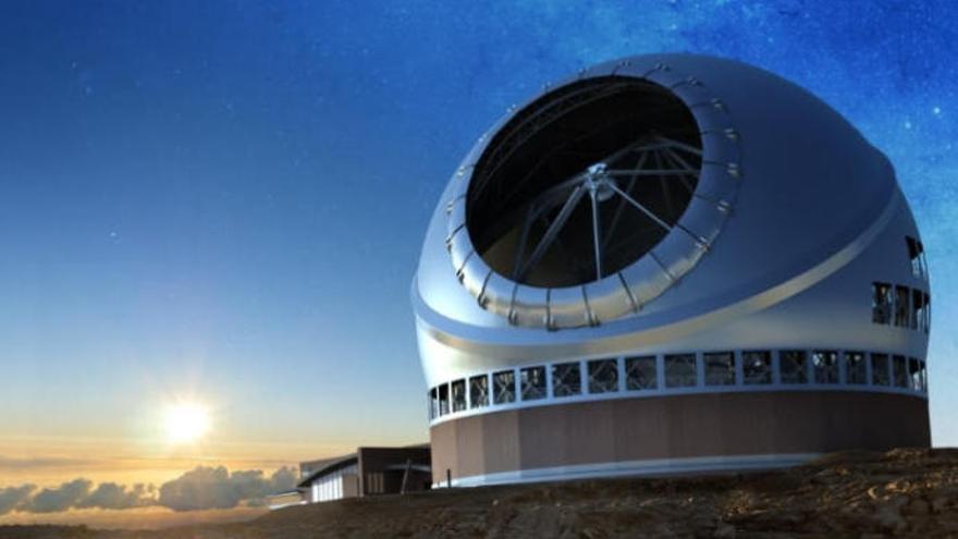 La Palma concede la licencia para el telescopio TMT con un plazo de 10 años