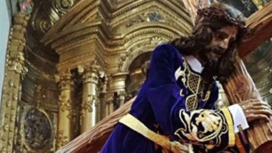 La Hermandad del Nazareno culmina hoy la novena con rosario y misa solemne
