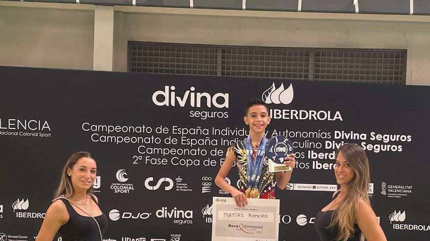 El cacereño Matías Romero, campeón de España alevín