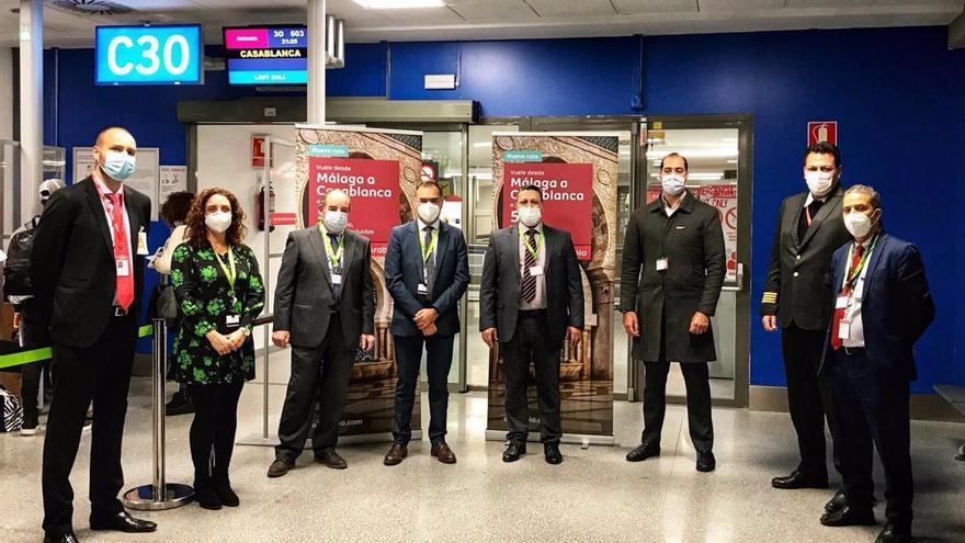 El aeropuerto de Málaga estrena una ruta a Casablanca