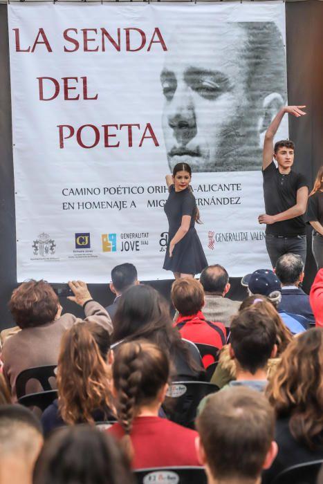 La provincia conmemora el aniversario de la muerte del poeta oriolano Miguel Hernández